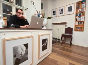Blick in die Galerie Kunst und Eros 25.11.2014