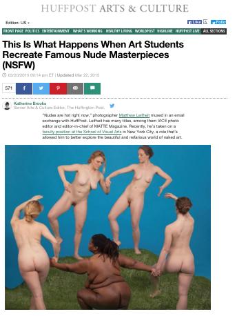 Die Belebung klassischer Motive als neue Kunstform