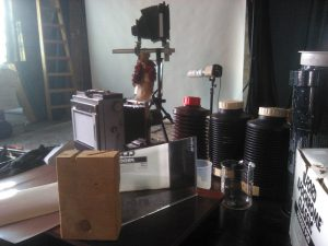 Mentor & Sinar einträchtig im Studio