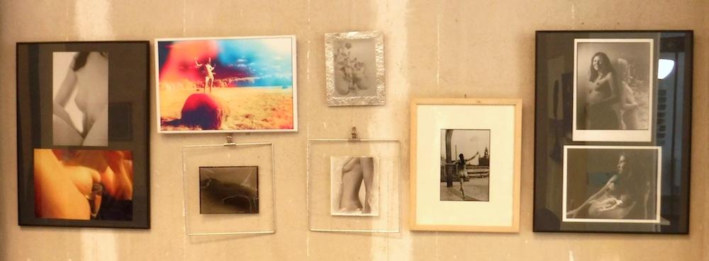 Meine Wand in der aktuellen Ausstellung in der blauenFABRIK